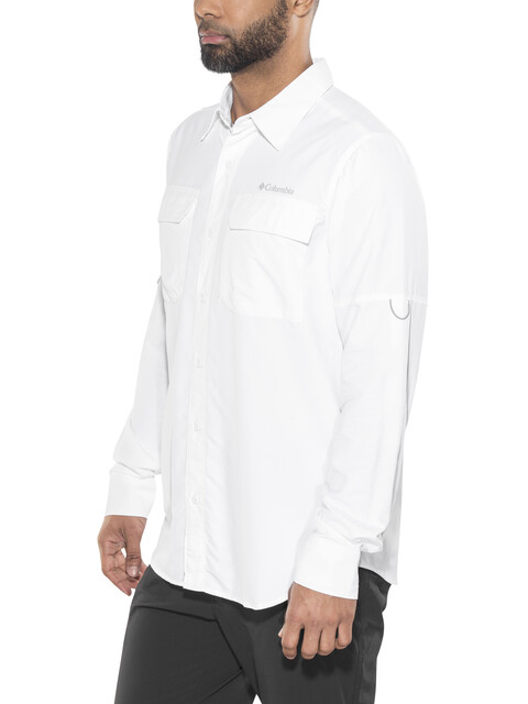 Columbia Silver Ridge II Long Sleeve Shirt Men white